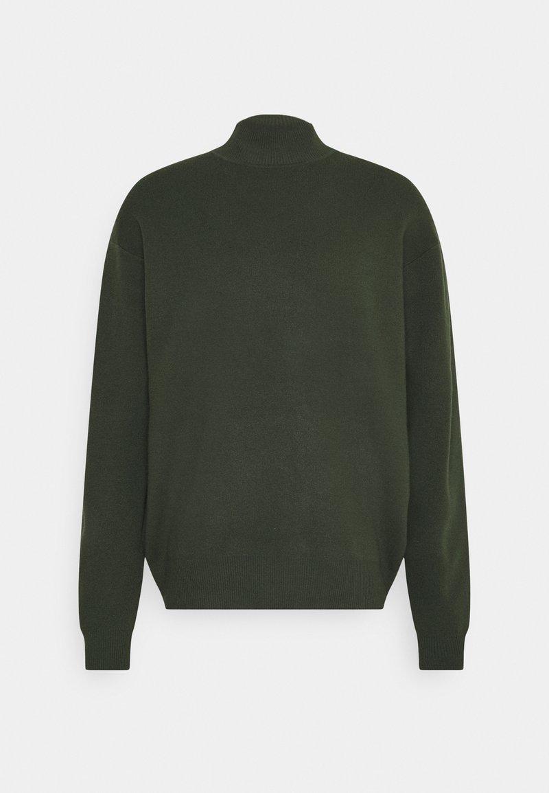 Samsøe Samsøe - GUNA TURTLE NECK - Jumper - kambu green