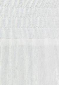 Bershka - Trousers - white - 5