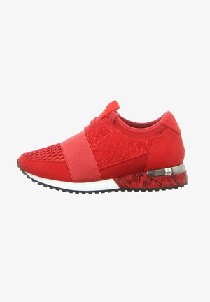Trainers - lycra red