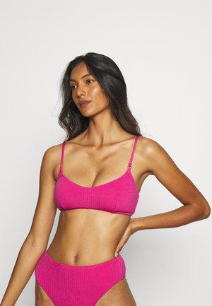 SEA DIVE BRALETTE - Bikini top - fuchsia rose