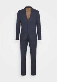 Isaac Dewhirst - CHECK SUIT - Traje - dark blue - 6