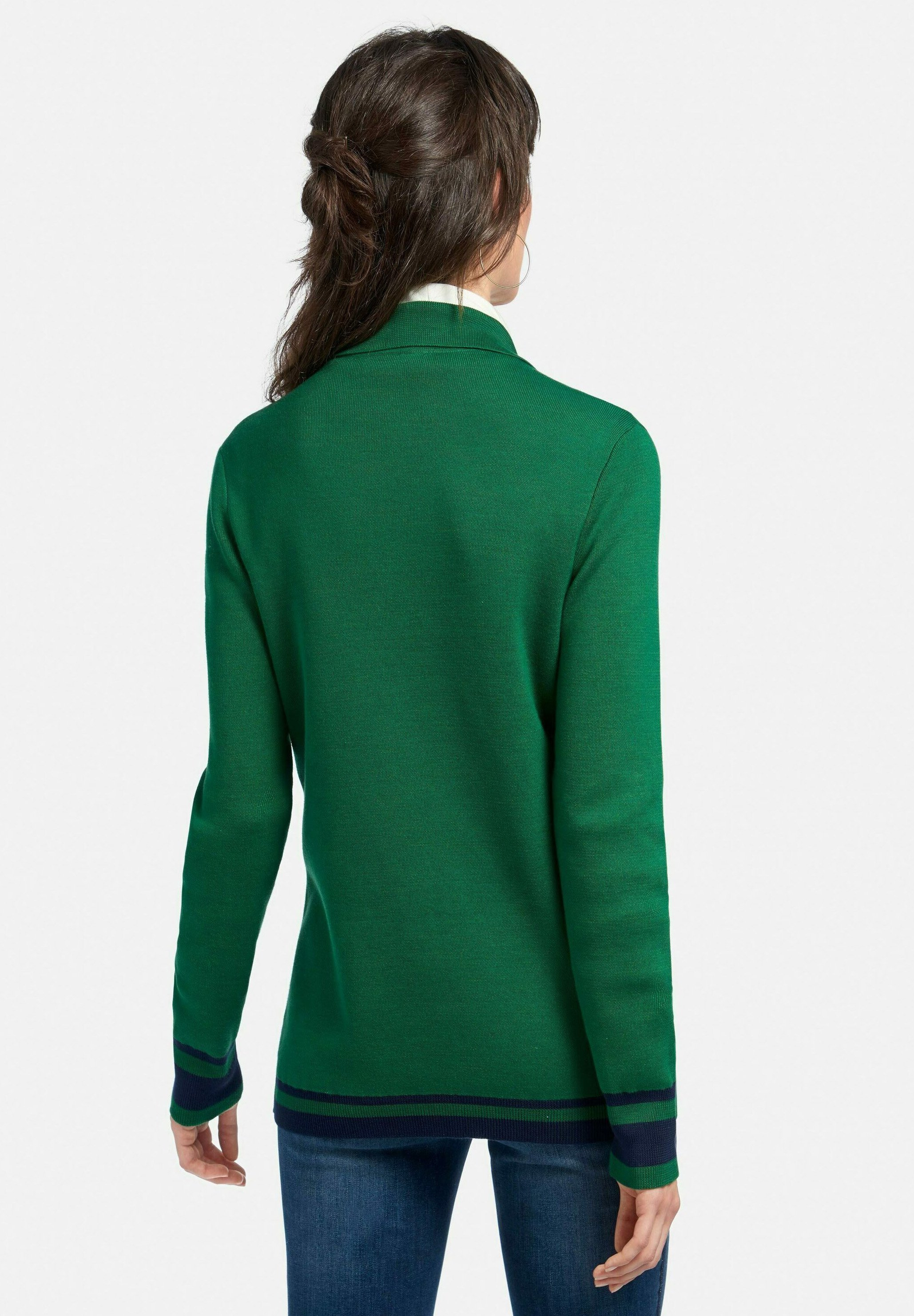 PETER HAHN Blazer dunkelgrün/marine/dunkelgrün