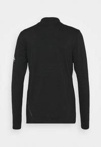 Nike Performance - ELEMENT TRAIL MIDLAYER - Funkční triko - black/silver - 1