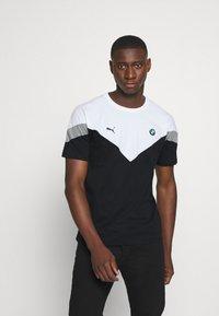 Puma - BMW TEE - Print T-shirt - black - 0