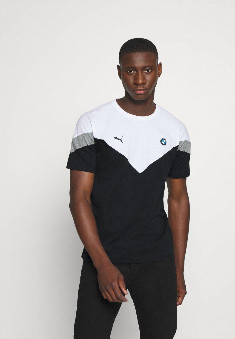 Puma - BMW TEE - Print T-shirt - black
