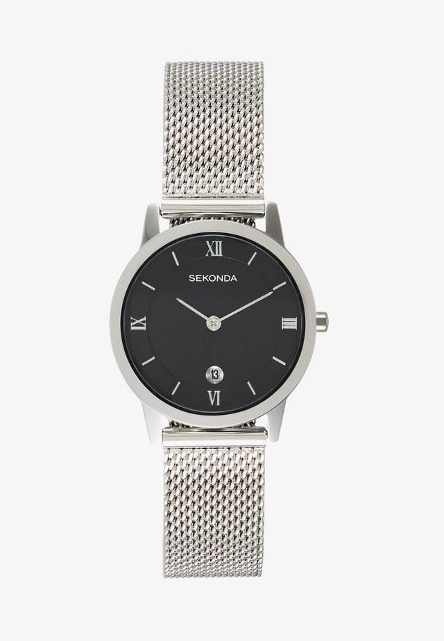 LADIES WATCH ROUND CASE - Watch - silver-coloured