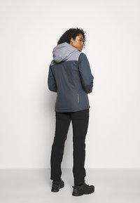 CMP - WOMAN JACKET FIX HOOD - Hardshell jacket - titanio - 2