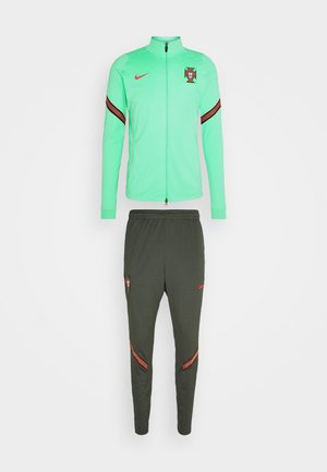 PORTUGAL FPF DRY SUIT - Träningsset - mint/sequoia/sport red