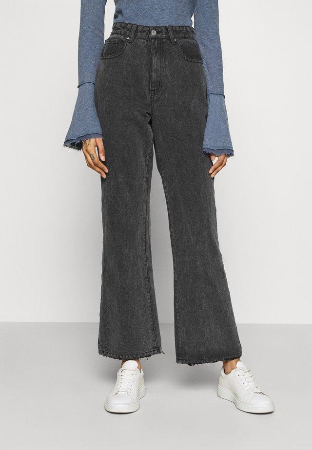 Jeans Bootcut - super wash black