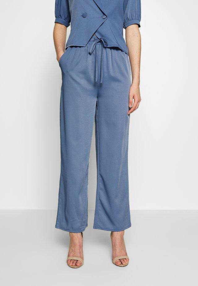 LIMA TROUSERS - Pantaloni - blue