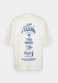 Holzweiler - RANGER GARDEN CLUB TEE - Print T-shirt - ecru - 1