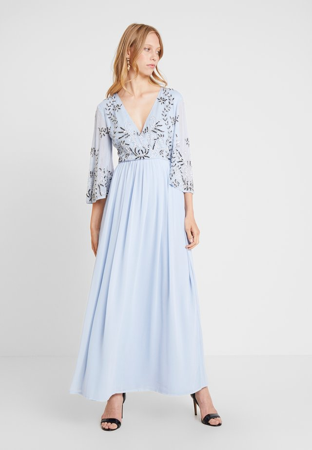 ANNIE MAXI - Vestido de fiesta - light blue