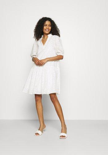 SLFPERNILLA DRESS - Day dress - snow white