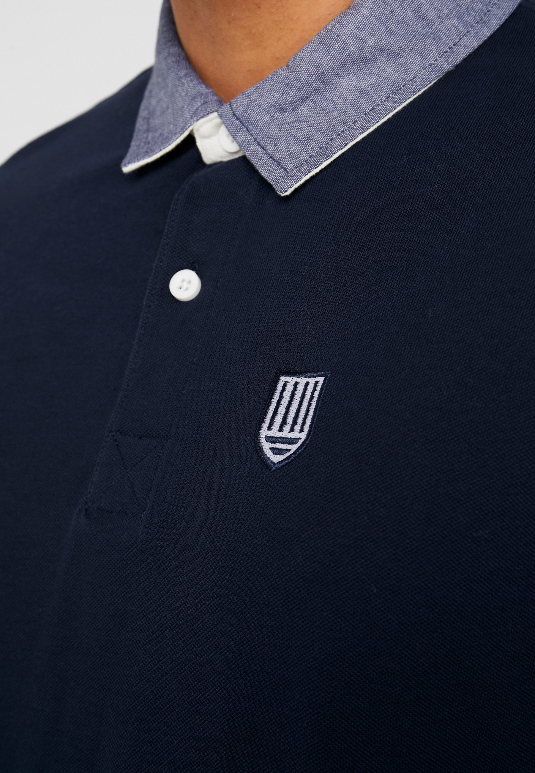 Pier One Polo shirt - dark blue 0Vz12