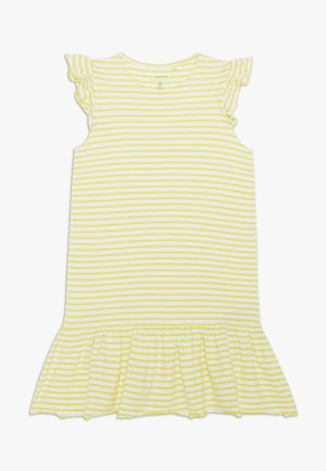 NKFJILL DRESS  - Jerseyjurk - limelight