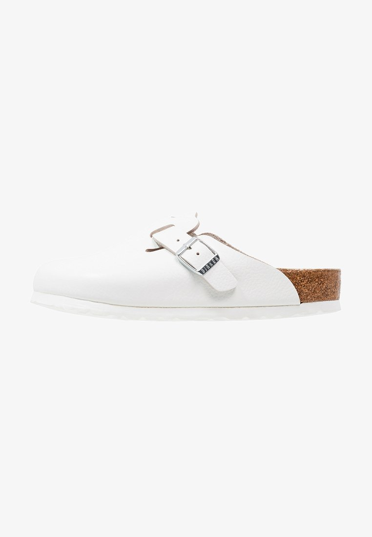 Birkenstock - BOSTON - Mules - white