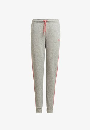 ADIDAS ESSENTIALS 3-STREIFEN FRENCH TERRY HOSE - Pantalones deportivos - grey