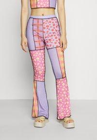 The Ragged Priest - STARGAZER PANT - Trousers - purple - 0