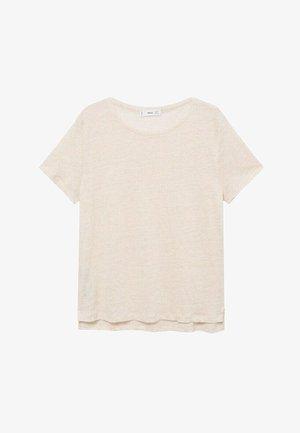 LISINO - T-shirt basic - zand