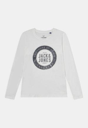 JJEJEANS TEE - T-shirt à manches longues - cloud dancer