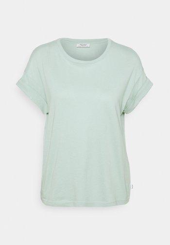 ROUNDNECK TURN UP SLEEVE - Basic T-shirt - light carib