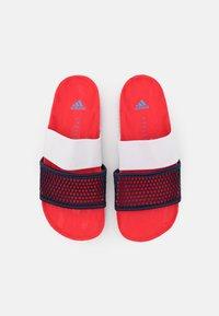 adidas by Stella McCartney - ASMC LETTE - Chanclas de baño - vivid red/collegiate navy/storm blue - 3