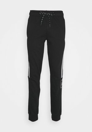 TAPE PANTS - Pantaloni sportivi - black/white