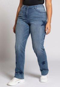 Ulla Popken - Slim fit jeans - bleu jean - 0