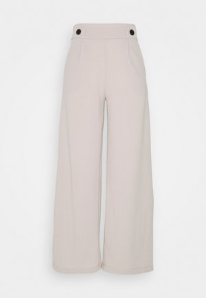 JDYGEGGO NEW LONG PANT - Trousers - beige