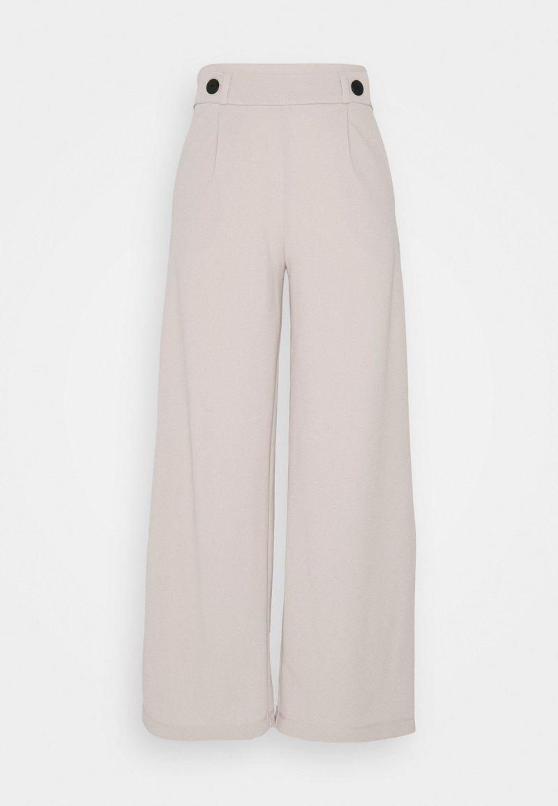 JDY - JDYGEGGO NEW LONG PANT - Trousers - beige