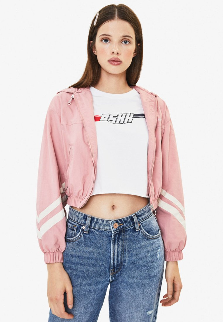 Bershka - Summer jacket - rose