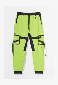 Bershka - Pantalon cargo - green - 4