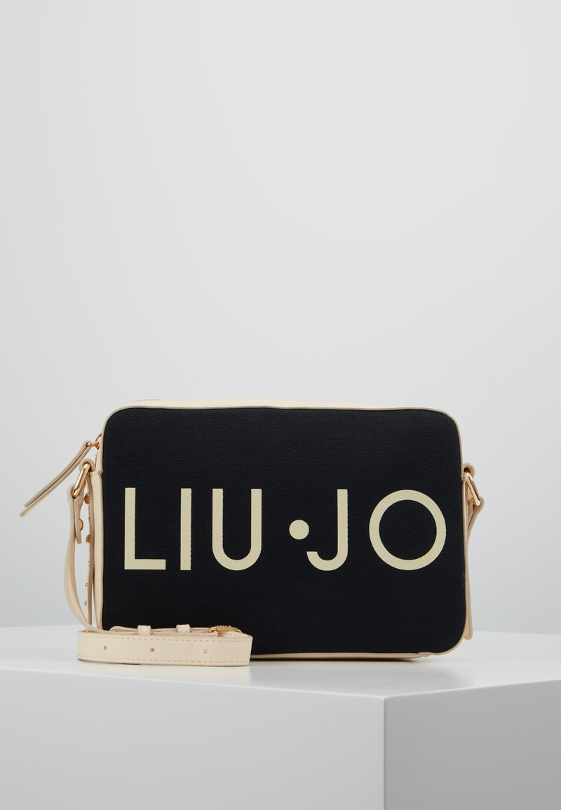 LIU JO - CROSSBODY - Schoudertas - black