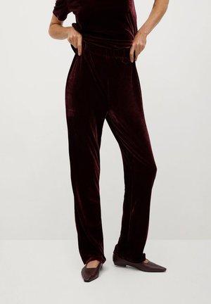 JOGGY-I - Trousers - burdeos