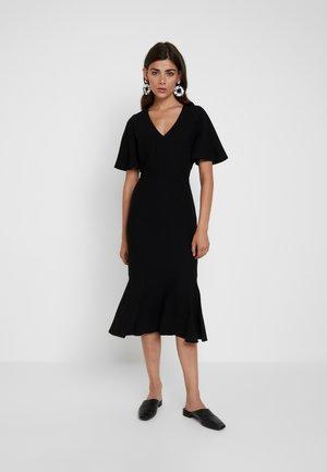 MIDI SHEATH HEM - Day dress - black