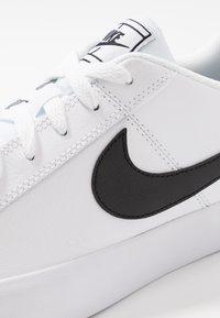 Nike Sportswear - COURT ROYALE - Trainers - white/black - 5