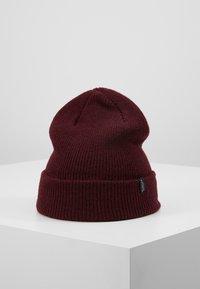 Selected Homme - SLHNEWWOOL BEANIE - Bonnet - burgundy - 0