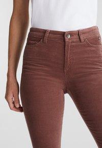 Esprit - Trousers - dark mauve - 3