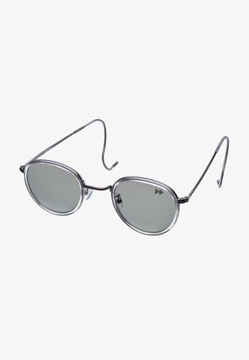Sunglasses - gunmetal with clear