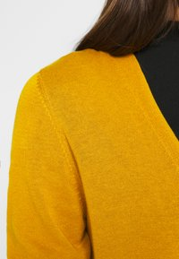 s.Oliver - LANGARM - Kardigan - yellow - 5