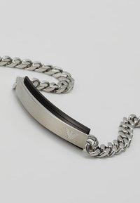 Emporio Armani - Náramek - black/silver-coloured - 5