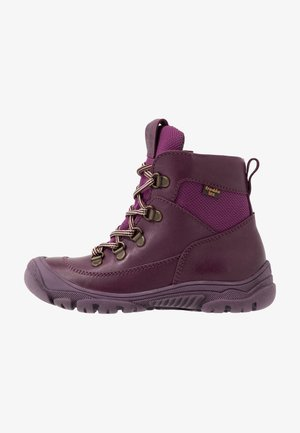 LINZ TEX LACES MEDIUM FIT - Lace-up ankle boots - purple
