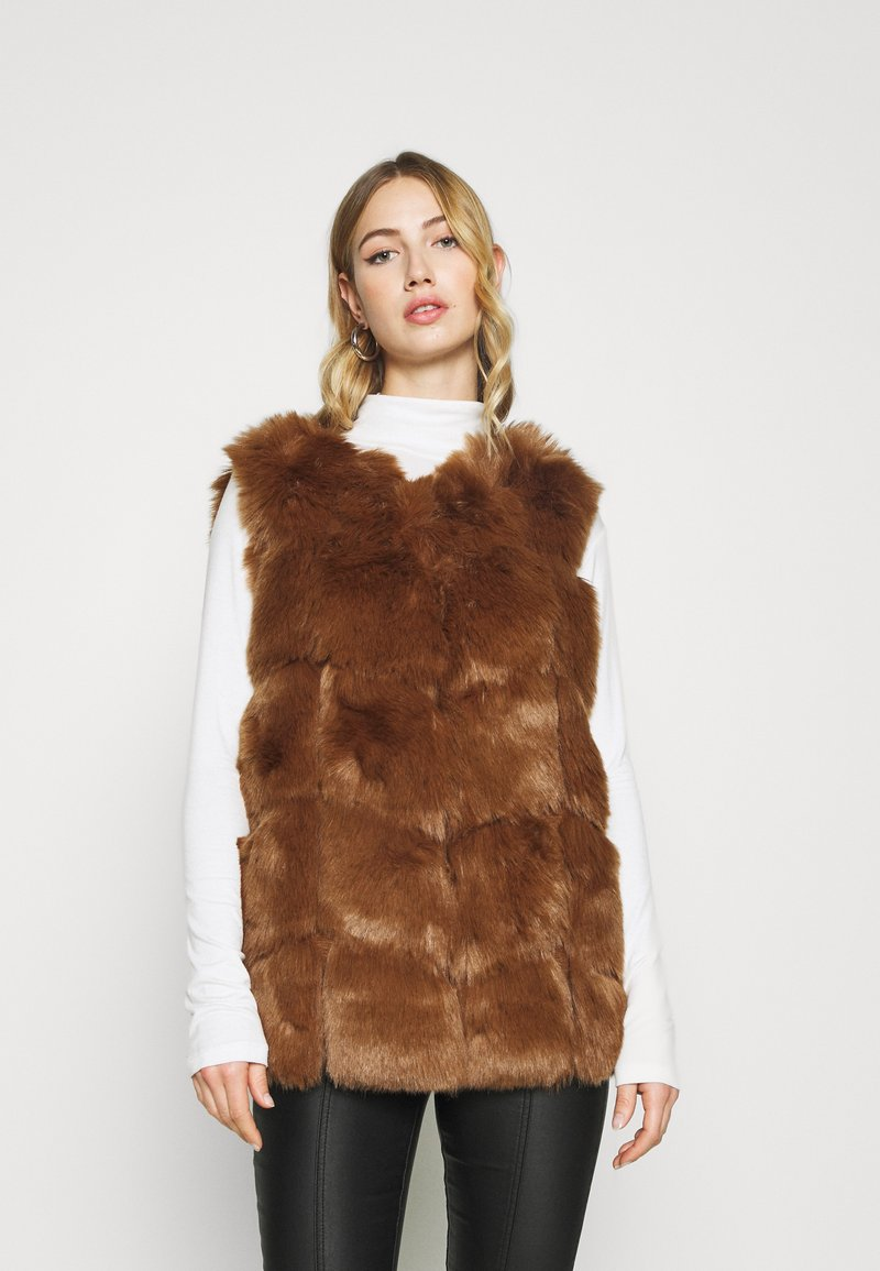 Missguided - GILET - Waistcoat - brown
