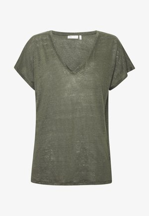 FAYLINN  - Basic T-shirt - beetle green