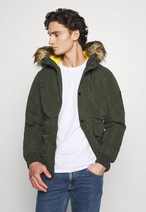 JJSKY JACKET - Veste d'hiver - forest night