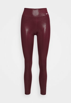 Leggings - dark beetroot