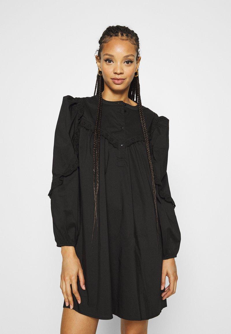 JDY - JDYENYA LIFE SHORT DRESS - Skjortekjole - black