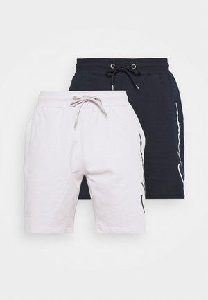 SCRIPT 2 PACK  - Pantaloni sportivi - navy/white