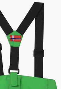 TrollKids - KIDS HOLMENKOLLEN SNOW SLIM FIT UNISEX - Snow pants - bright green - 3