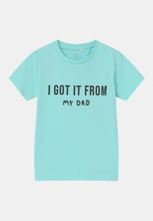 NMMFAMILY - T-shirt print - blue tint